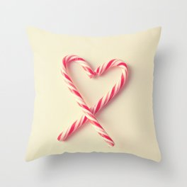 Candy Kiss Throw Pillow