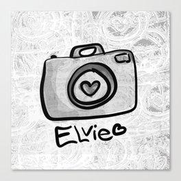 Camera Elvie Canvas Print