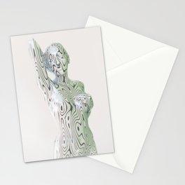Liz Silver Stationery Cards
