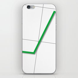 Statistic Up iPhone Skin