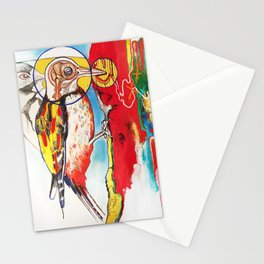 The Anatomy of Self Infliction  Stationery Cards