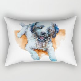 DOG#17 Rectangular Pillow