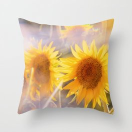 Lazy Summer Days Throw Pillow