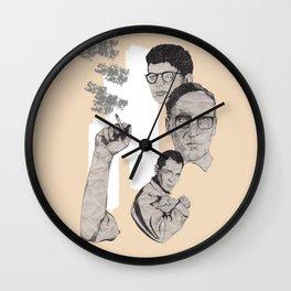 Burroughs, Ginsberg and Kerouac Wall Clock