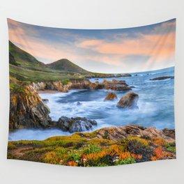Garrapata Beach Sunrise, Big Sur Wall Tapestry