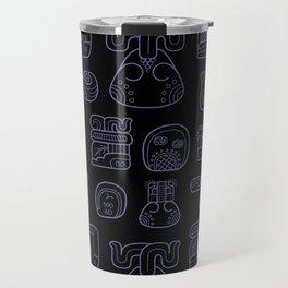 Picto-glyphs Story--Negro Travel Mug