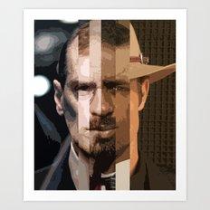 Television Man Art Print