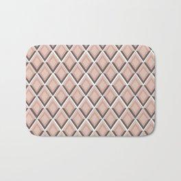 pink snake skin print Bath Mat