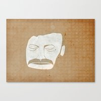 bon iver Canvas Prints featuring Bon Iver by Strong Odors