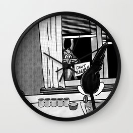 Shazam x Looney Tune Wall Clock