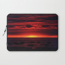 Red Sky at Night Laptop Sleeve