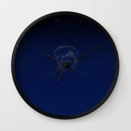 """Look up here, I'm in heaven"" Wall Clock"