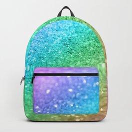 Rainbow Princess Glitter #1 (Photography) #shiny #decor #art #society6 Backpack