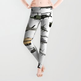 American Military Pattern Leggings