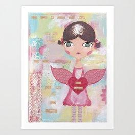 Kind hearted Art Print