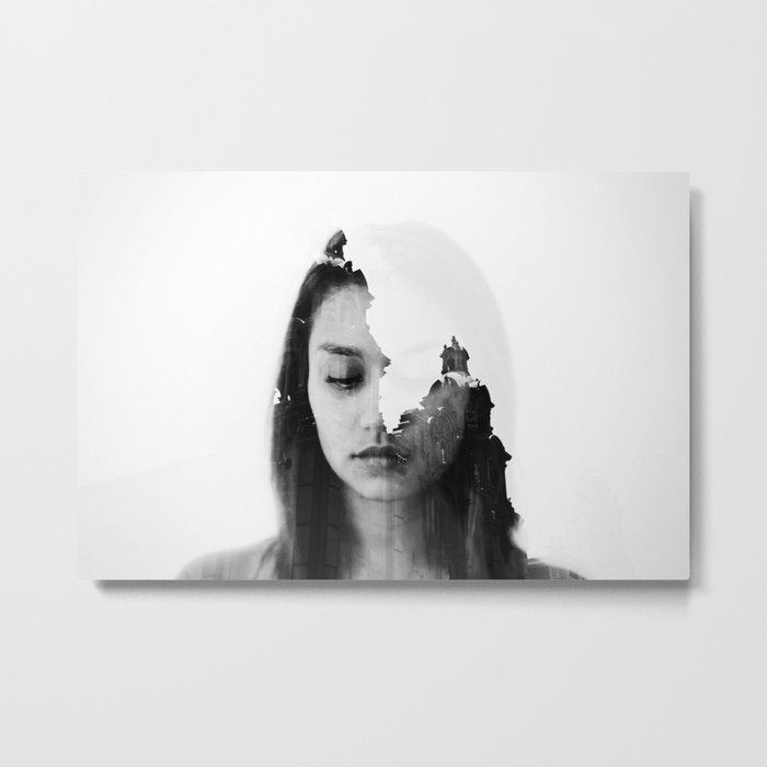 Invisible light. Metal Print