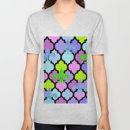 Moroccan and FDL Unisex V-Neck