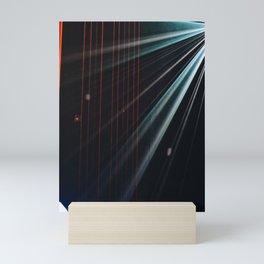 LIGHT BEAM Mini Art Print