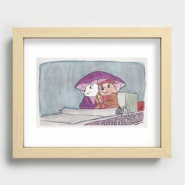 Rescuers Recessed Framed Print