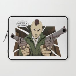 Nobody puts Bickle's Baby in a Corner! Laptop Sleeve