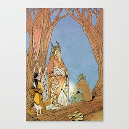the Story Canvas Print