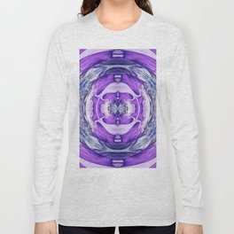 310 - Abstract colour design Long Sleeve T-shirt