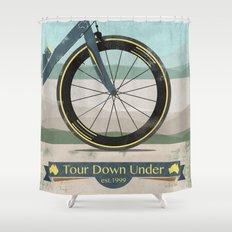 Tour Down Under Bike Race Shower Curtain