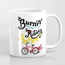 Burning Rubber bike Coffee Mug