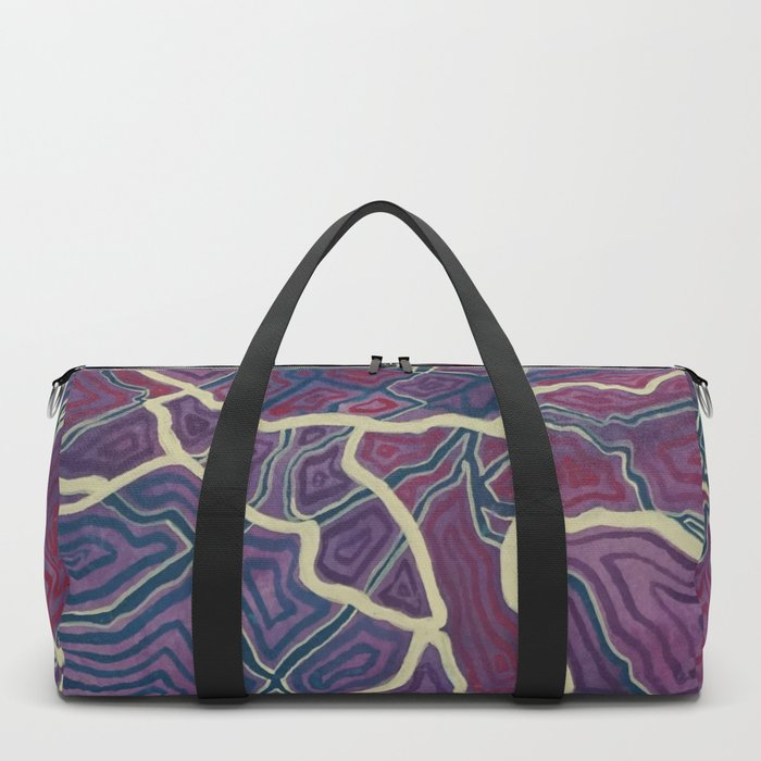 Purple Veins (2) Duffle Bag