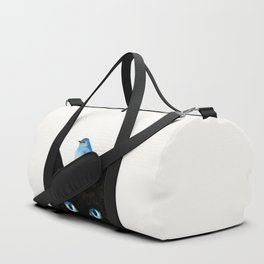 Cat and Bird Duffle Bag