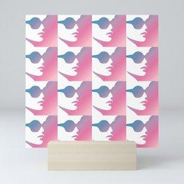 Pink Feminist Mini Art Print