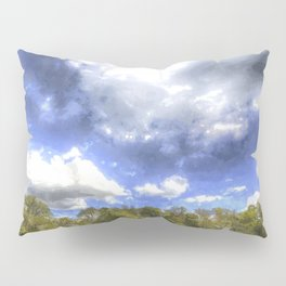 Summers Day Farm Art Pillow Sham