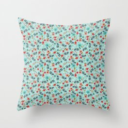 Pretty Not-So-Sweary: Nope- Day Throw Pillow