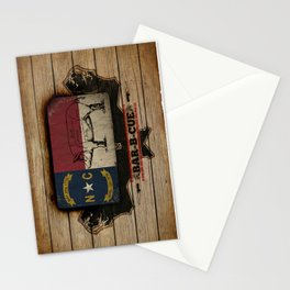 NC BBQ Stationery Cards