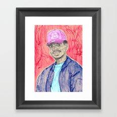 chanseytherapper Framed Art Print