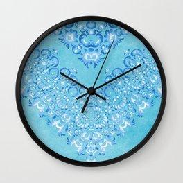 Floral Fairy Tale 2 Wall Clock