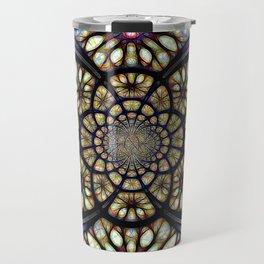 The Art Of Stain Glass Travel Mug