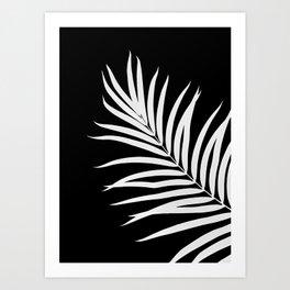 Tropical Palm Leaf #2 #botanical #decor #art #society6 Art Print