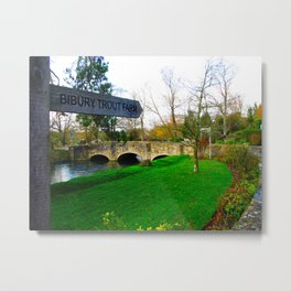 A day in the Cotswold's Metal Print