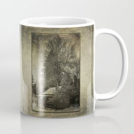 Log Cabin in the Woods Coffee Mug