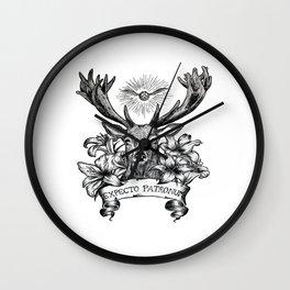 Expecto Patronum deer Wall Clock