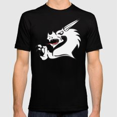 Dragon LARGE Black Mens Fitted Tee