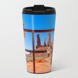 Saddle up in Wild West Travel Mug