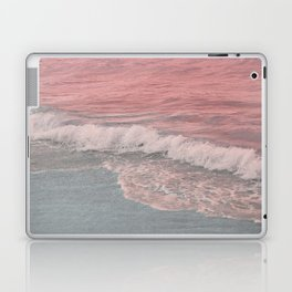 Pink Waves Beach Laptop & iPad Skin