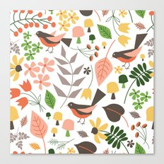 Springtime Floral Canvas Print