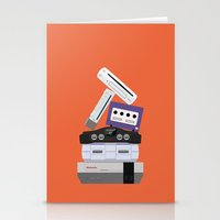 nintendo Stationery Cards featuring Nintendo Consoles by Michael Walchalk