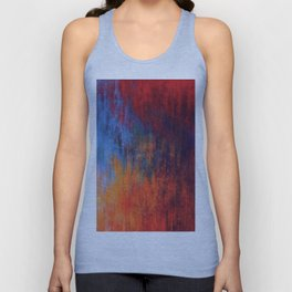 Hell Flame Unisex Tank Top