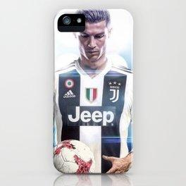 Cristiano Ronaldo To Juventus iPhone Case