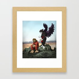 The Failed Temptation Framed Art Print
