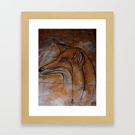 Fox. Framed Art Print